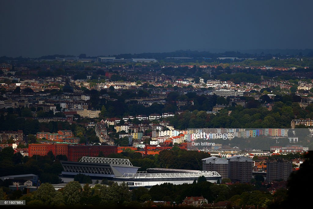 A general view of the stadium before the Sky Bet Championship match between Bristol City and Nottingham Forest at Ashton Gate on October 1, 2016 in Bristol, England.