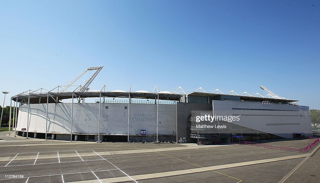 A general view of the Stadium de Toulouse on March 17 2011 in Toulouse France