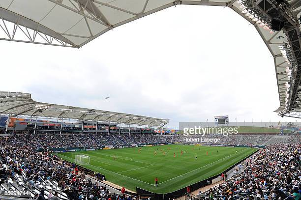 General view of the stadium during the game between the Los Angeles Sol and the Washington Freedom at The Home Depot Center on March 29 2009 in...