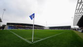 A general view of the stadium during the npower League Two match between Chesterfield and Southend United at the B2net Stadium on October 9 2010 in...