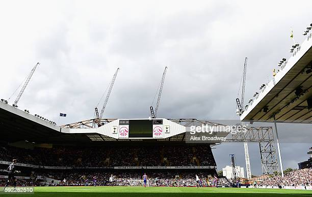 General view of the stadium during the Premier League match between Tottenham Hotspur and Crystal Palace at White Hart Lane on August 20 2016 in...