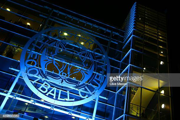 A general view of the stadium exterior during the Barclays Premier League match between Leicester City and Liverpool at The King Power Stadium on...