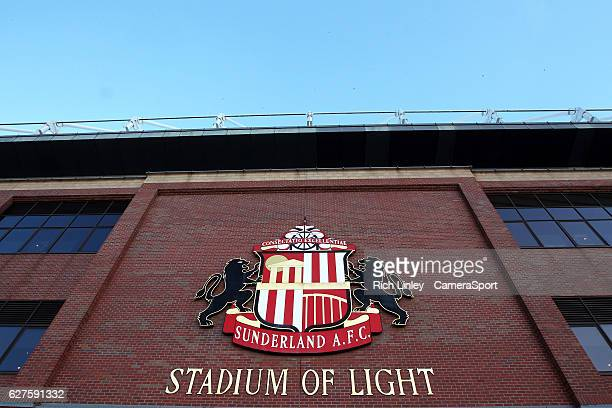 A general view of the Stadium of Light home of Sunderland Football Club during the Premier League match between Sunderland and Leicester City at...