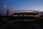A general view of the stadium prior to kickoff during the 2015 Rugby World Cup Pool C match between New Zealand and Namibia at the Olympic Stadium on...