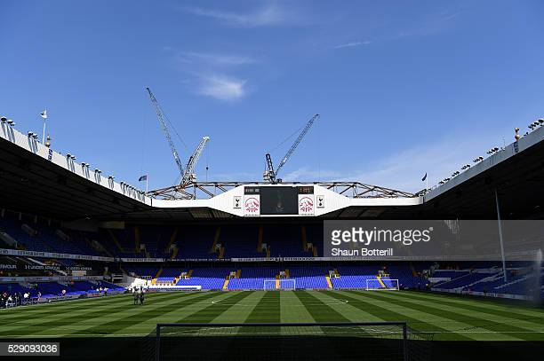 A general view of the stadium prior to kickoff during the Barclays Premier League match between Tottenham Hotspur and Southampton at White Hart Lane...