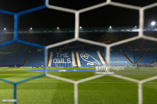 A general view of the stadium prior to kickoff during the Capital One Cup fourth round match between Sheffield Wednesday and Arsenal at Hillsborough...