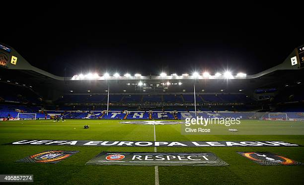 A general view of the stadium prior to kickoff during the UEFA Europa League Group J match between Tottenham Hotspur FC and RSC Anderlecht at White...