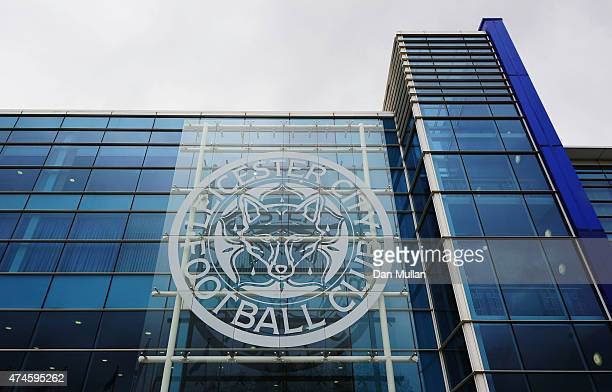 A general view of the stadium prior to the Barclays Premier League match between Leicester City and Queens Park Rangers at The King Power Stadium on...