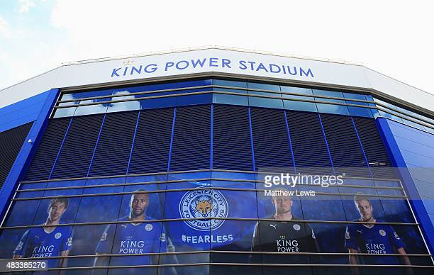 A general view of the stadium prior to the Barclays Premier League match between Leicester City and Sunderland at The King Power Stadium on August 8...