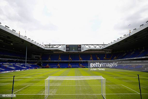 A general view of the stadium prior to the Barclays Premier League match between Tottenham Hotspur and Stoke City at White Hart Lane on August 15...