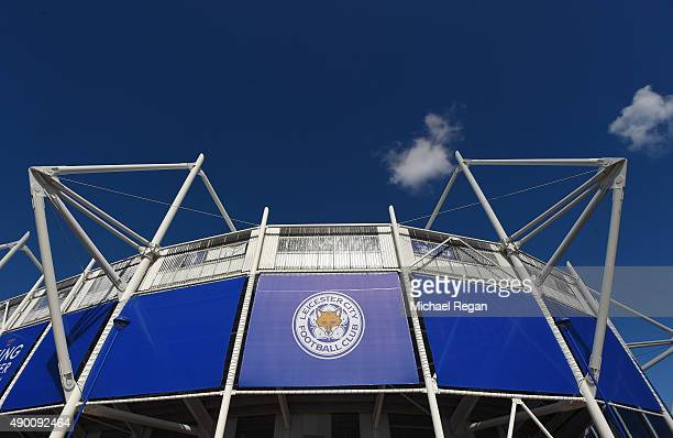 A general view of the stadium prior to the Barclays Premier League match between Leicester City and Arsenal at The King Power Stadium on September 26...