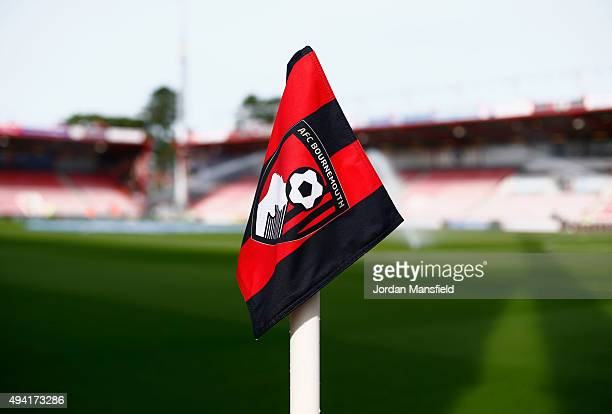 A general view of the stadium prior to the Barclays Premier League match between AFC Bournemouth and Tottenham Hotspur at Vitality Stadium on October...