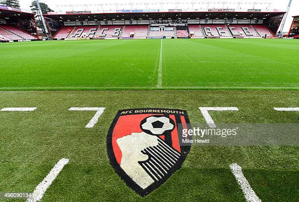 A general view of the stadium prior to the Barclays Premier League match between AFC Bournemouth and Newcastle United at Vitality Stadium on November...