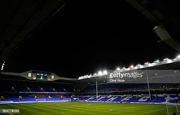 A general view of the stadium prior to the Barclays Premier League match between Tottenham Hotspur and Leicester City at White Hart Lane on January...
