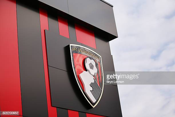 A general view of the stadium prior to the Barclays Premier League match between AFC Bournemouth and Norwich City at the Vitality Stadium on January...