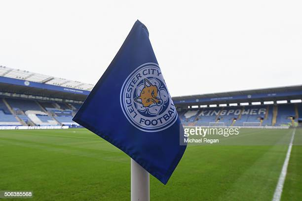 A general view of the stadium prior to the Barclays Premier League match between Leicester City and Stoke City at The King Power Stadium on January...