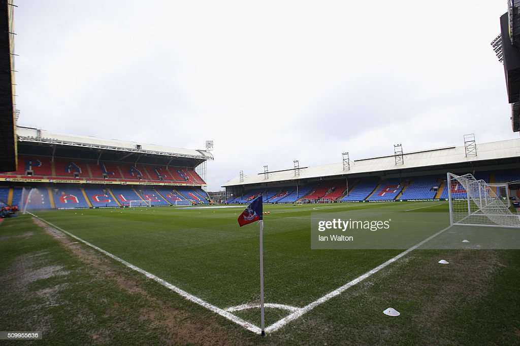 A general view of the stadium prior to the Barclays Premier League match between Crystal Palace and Watford at Selhurst Park on February 13, 2016 in London, England.