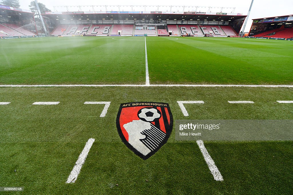 A general view of the stadium prior to the Barclays Premier League match between A.F.C. Bournemouth and Stoke City at Vitality Stadium on February 13, 2016 in Bournemouth, England.