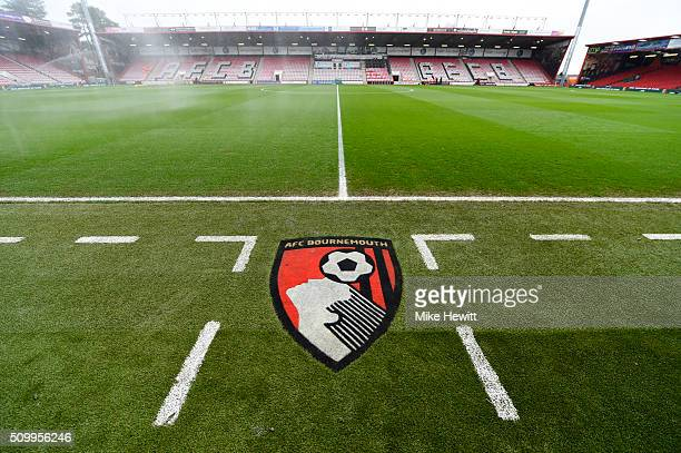 A general view of the stadium prior to the Barclays Premier League match between AFC Bournemouth and Stoke City at Vitality Stadium on February 13...