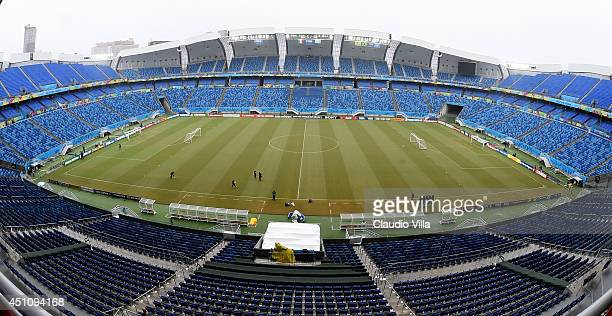 A general view of the stadium prior to the Italy training session at the Dunas Arena in Natal on June 23 2014 in Natal Brazil