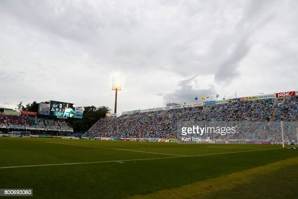 A general view of the stadium prior to the JLeague J1 match between Jubilo Iwata and FC Tokyo at Yamaha Stadium on June 25 2017 in Iwata Shizuoka...