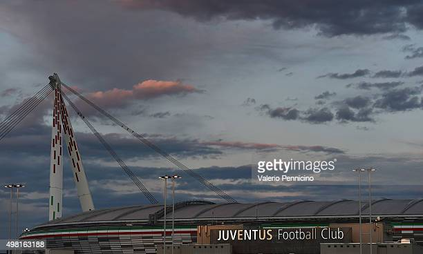 A general view of the stadium prior to the Serie A match between Juventus FC and AC Milan at Juventus Arena on November 21 2015 in Turin Italy