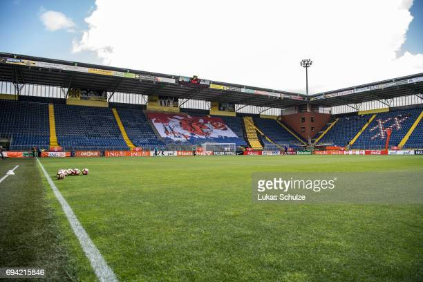 General view of the stadium prior to the Women's International Friendly match between Netherlands and Japan at Rat Verlegh Stadion on June 9 2017 in...