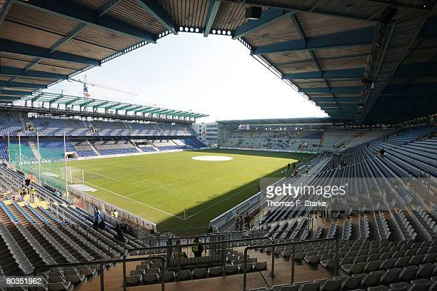A general view of the stadium Schueco Arena ahead of the Bundesliga match between Arminia Bielefeld and Werder Bremen at the Schueco Arena on March...