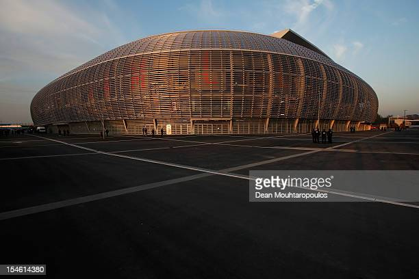 A general view of the staduim prior to the Group F UEFA Champions League match between OSC Lille and FC Bayern Muenchen at Grand Stade Lille...