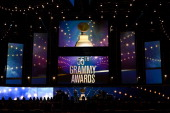 A general view of the stage at the 55th Annual GRAMMY Awards at Staples Center on February 10 2013 in Los Angeles California