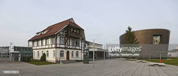 A general view of the Steiff stuffed toy museum on November 23 2012 in Giengen an der Brenz Germany Founded by seamstress Margarethe Steiff in 1880...