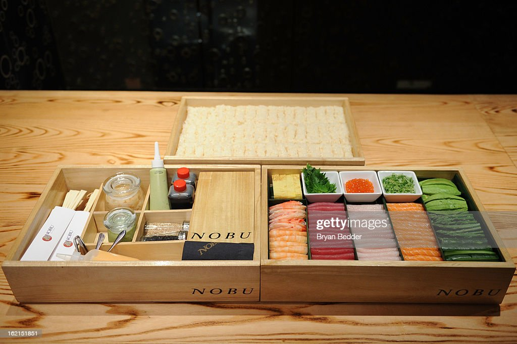 Chef Nobu Hosts Hand Roll Box Event At Nobu Fifty Seven Balcony ...