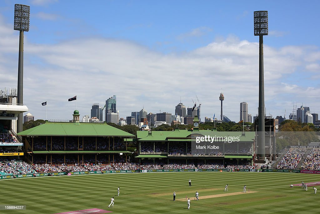A general view of the Sydney Cricket is seen during day one of the Third Test match between Australia and Sri Lanka at Sydney Cricket Ground on January 3, 2013 in Sydney, Australia.