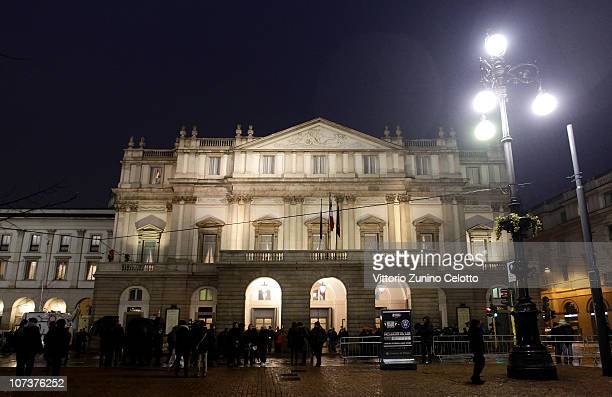 A general view of the Teatro Alla Scala on December 7 2010 in Milan Italy
