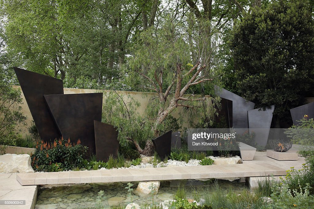 A general view of the Telegraph Garden which has won 'Best Show Garden' at the 2016 Chelsea Flower Show at Royal Hospital Chelsea on May 24, 2016 in London, England. The show, which has run annually since 1913 in the grounds of the Royal Hospital Chelsea, is open to the public from 24-28 May.
