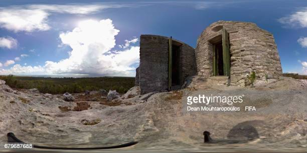 A general view of the the nation's highest point Mount Alvernia also known as Como Hill as it rises to 206 feet and its monastery or church called...