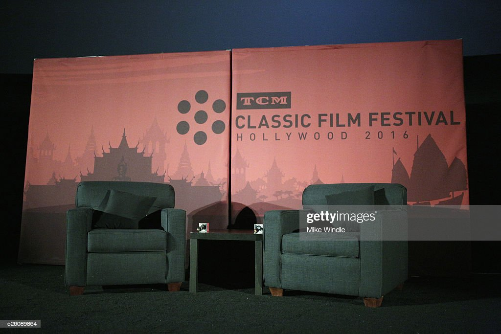A general view of the theater during day 2 of the TCM Classic Film Festival 2016 on April 29, 2016 in Los Angeles, California. 25826_008