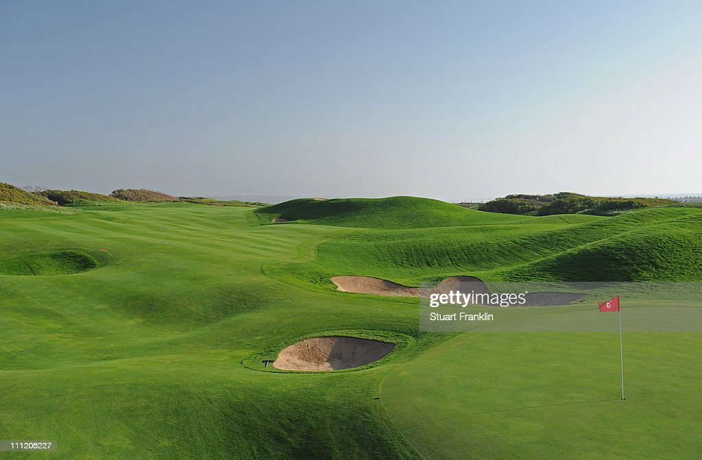 A general view of the third hole prior to the start of the Trophee du Hassan II Golf at the Golf du Palais Royal on March 30 2011 in Agadir Morocco