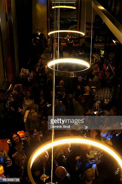 general view of the Thomas Sabo grand flagship store opening on October 14 2015 in Munich Germany
