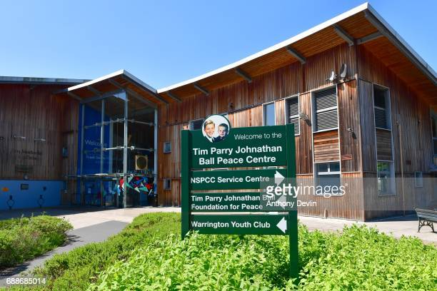General view of the Tim Parry Jonathan Bell Foundation For Peace in Warrington ahead of a visit from Liberal Democrat leader Tim Farron Cheshire May...