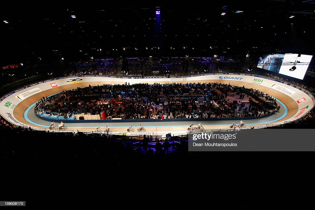 A general view of the track and fans during the Rotterdam 6 Day Cycling at Ahoy Rotterdam on January 5, 2013 in Rotterdam, Netherlands.