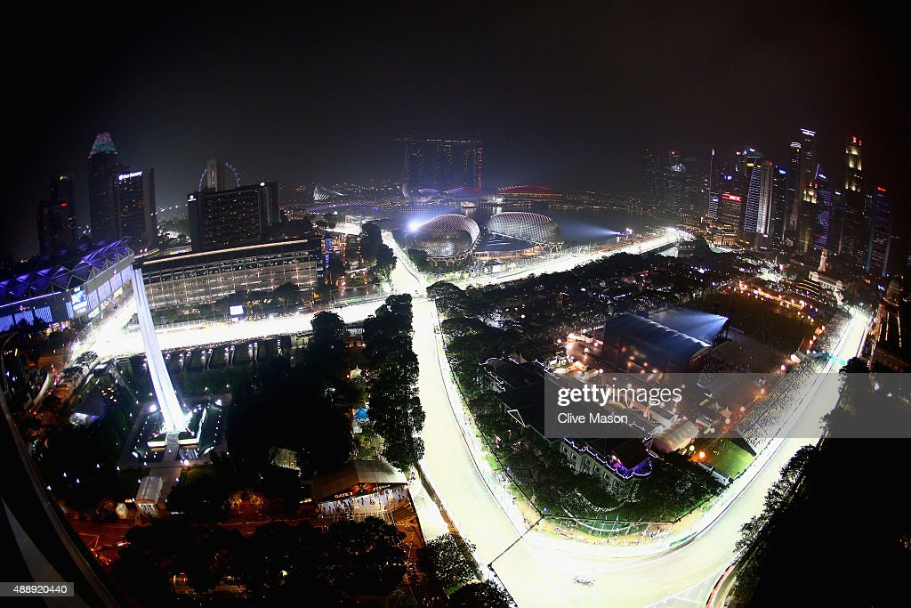 F1 Grand Prix of Singapore - Practice : News Photo
