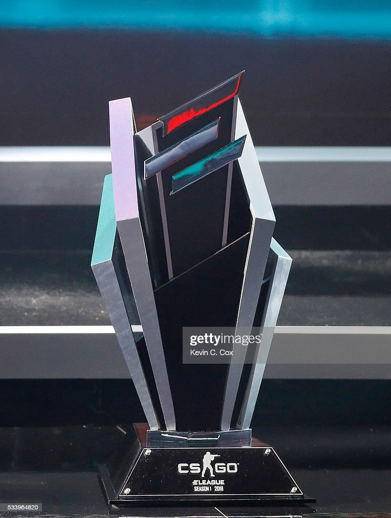 A general view of the trophy during Day One of ELEAGUE Group Stage A at Turner Studios on May 24, 2016 in Atlanta, Georgia.