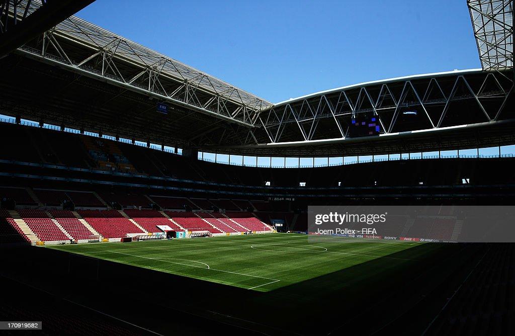 General view of the Turk Telekom Arena on June 20, 2013 in Istanbul, Turkey.