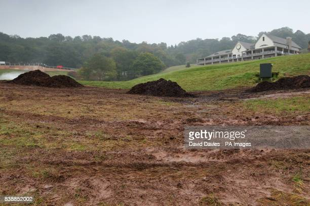 General view of the Twenty Ten Course at Celtic Manor a few days after the Ryder Cup
