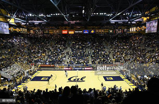 A general view of the UCLA Bruins and the California Golden Bears NCAA Pac10 basketball game on February 28 2009 at Haas Pavillion in Berkeley...