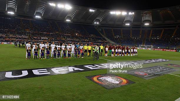 A general view of the UEFA Europa League match between AS Roma and FC Astra Giurgiu at Olimpico Stadium on September 29 2016 in Rome