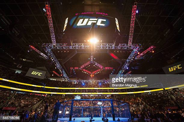 A general view of the UFC 200 event on July 9 2016 at TMobile Arena in Las Vegas Nevada
