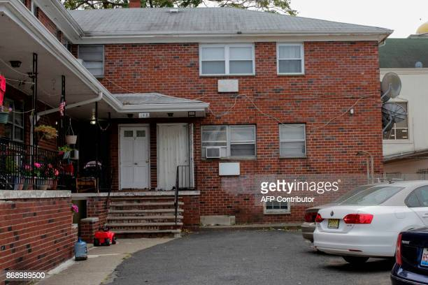 General view of the unit where suspect Sayfullo Saipov lived is seen on November 1 in Paterson New Jersey A pickup driver killed eight people in New...