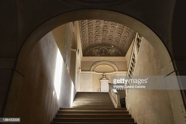 A general view of the university of Pavia on January 5 2012 in Pavia Italy Pavia is a town of the Lombardy region northern Italy It´s the home of one...